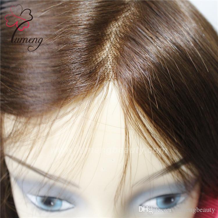 Big Size Toupee High Quality Human Hair Womens Toupee Full Lace Human Wig  Long Lace Wigs From Lumengbeauty 9f9ecb6b0