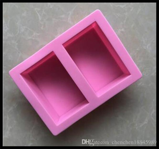 rectangle Handmade silicone mold soap candle molds bakeware mould,animal moulds, form for soap wholesale crafts tools