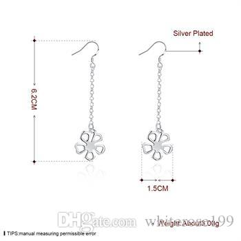 Ingrosso - Orecchini di moda in argento sterling 925 con prezzo più basso, yE089