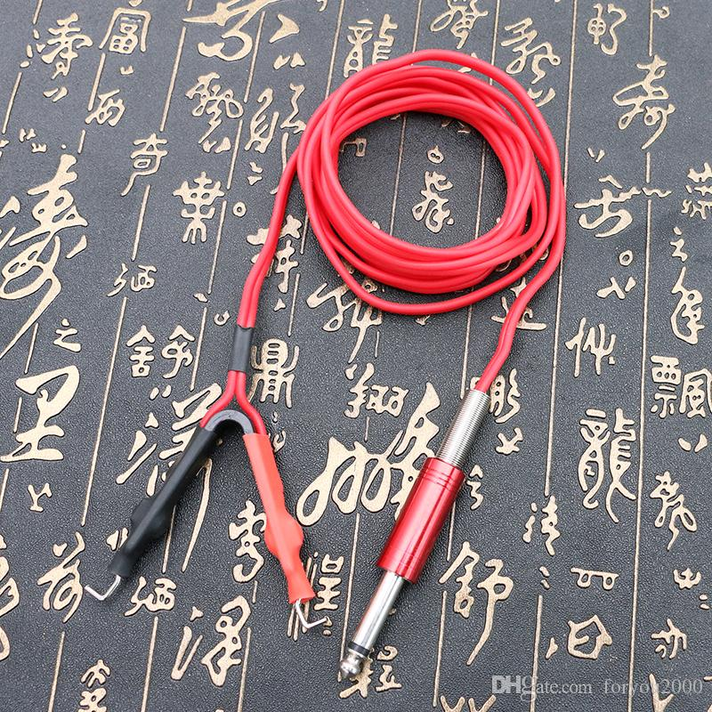 Two Colors Tattoo Clip Cord Silicone Clip Cord for Tattoo Power Supply High Quality Tattoo Kits Tool TPS5129