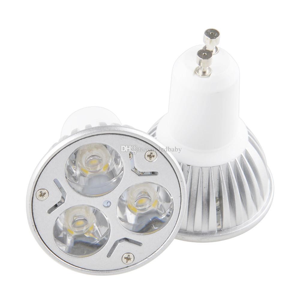 كري الصمام المصابيح E27 E26 MR16 GU10 GU5.3 3W LED الأضواء عاكس 12V أضواء LED UL عالية الطاقة
