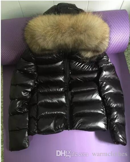 Роскошные XXMoncle бренд пальто большой настоящий енот меховые парки для женщин зима женщины 90% белая утка вниз Parkas femal anorak женщины пальто куртка