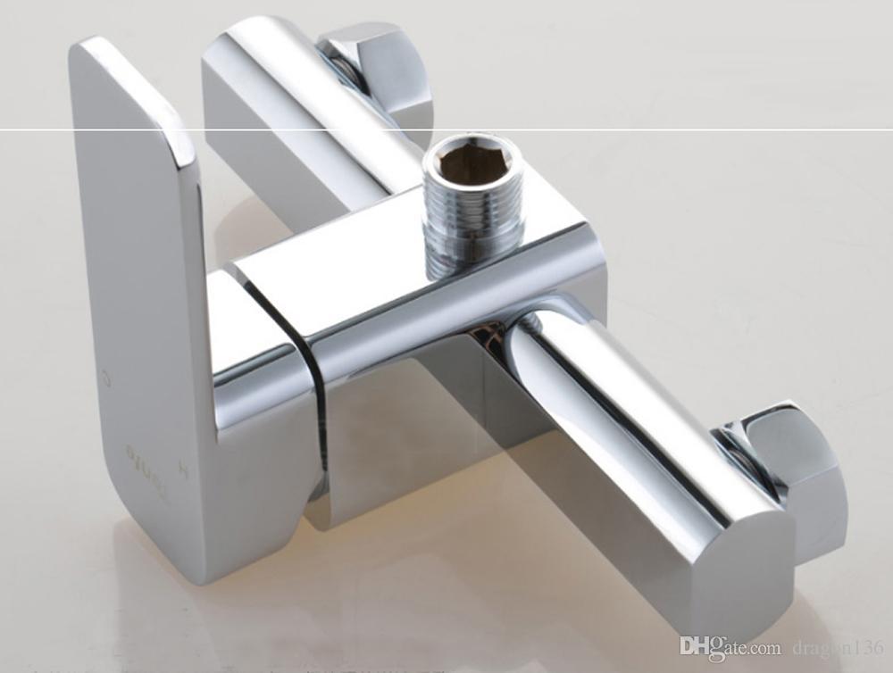 BLL Tub mixer faucet with wider Tap hand shower Round Rain Bathroom Shower Head Brass Hand Shower Y1202