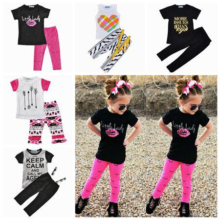 bda16593ff9d 2019 Summer 2017 Baby Boutique Clothing Sets Baby Clothes Girls ...