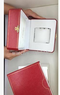 Marca de Luxo Mens Acessórios de Cartão de CD Para Caixa de Relógio Caixa de Relógios Das Mulheres Dos Homens Externos Internos Originais Caixa de Relógio de Pulso
