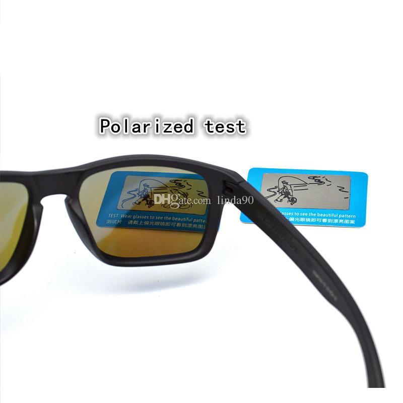 Fashion Marke polarisierte Sonnenbrillen Outdoor-Sport Eyewear Männer Frauen Googles Sonnenbrille Radfahren Sunglasse 9102 Qualitäts-neuer Verpackungsschachtel