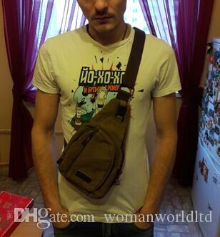 Vogue Star 2017 New Fashion Man Shoulder Bag Men Canvas Messenger Bags Casual Travel Military Bag