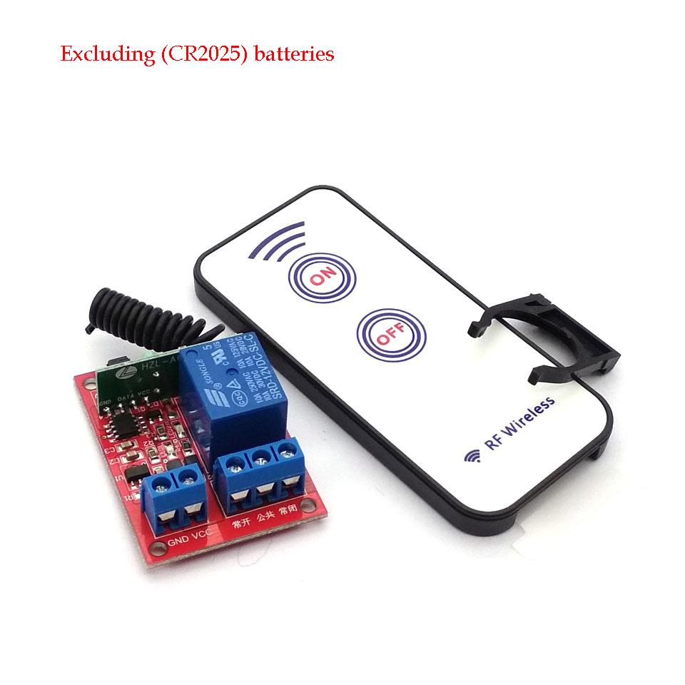 Discount 1 Way 12v Wireless Module 2 Key Rf Remote Control Component Switch Circuit What Do I Need 433m From China