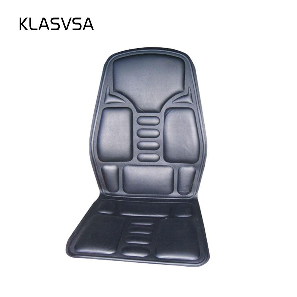 2018 Heated Back Massage Seat Topper Car Home Office Seat Massager Heat  Vibrate Cushion Back Neck Massage Chair Massage Relaxation From Liyan88776,  ...