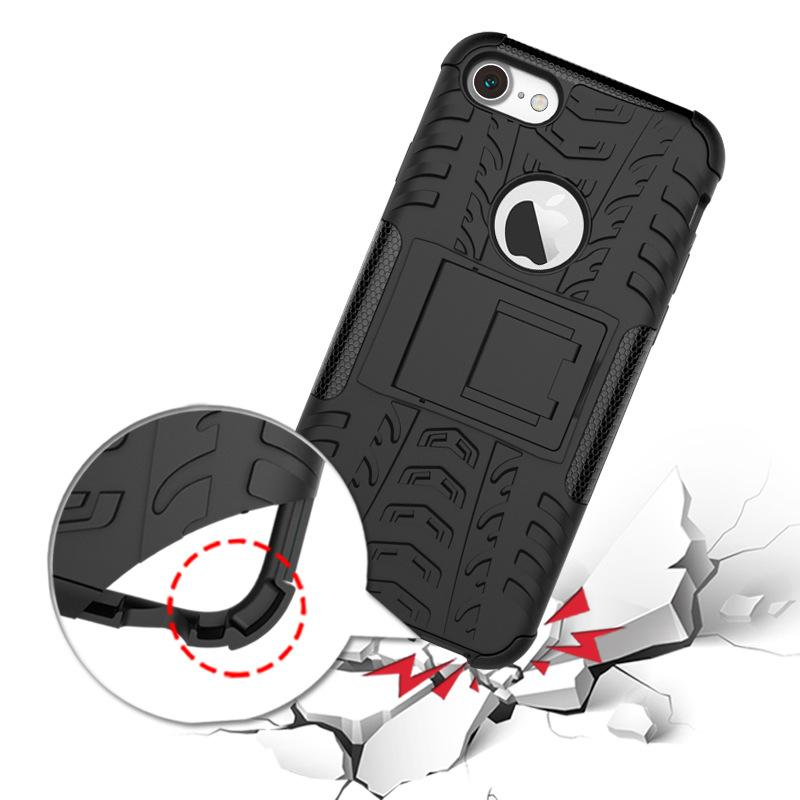 For LG Stylo 4 Iphone 11 Pro Samsung Galaxy Note 10 S10 Plus Hybrid Armor Kickstand Holder Case Tyre Design Cell Phone Cover