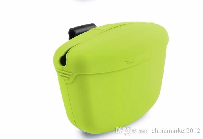 O envio gratuito de sacos de treinamento do cão de estimação lanche sacos para fora lanche portátil tratar pacote de silício bolsos de treinamento lanche transportadora saco