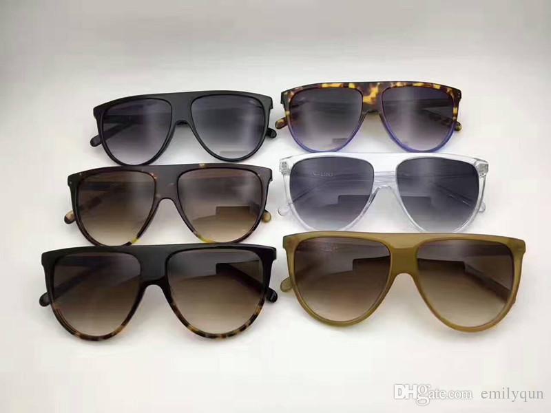 78ce94c3927 New Luxury Brand Sunglasses Designer Audrey 41435 Fashion Big Frame  Sunglasses Women Brand Sunglasses Original Packaging Leopard Grain Color  Glasses Online ...