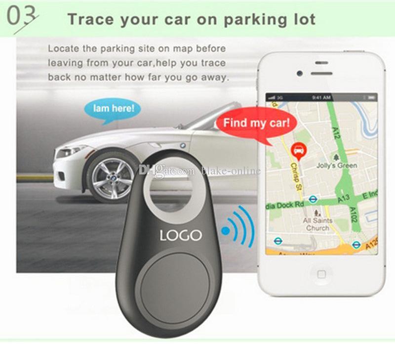 스마트 태그 자동차 추적기 무선 블루투스 어린이 애완 동물 지갑 키 파인더 GPS 로케이터 안티 - 분실 경보 소매 가방
