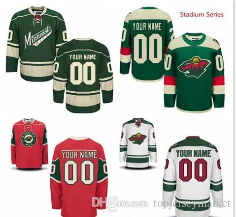 buy popular 69fc8 26fa2 minnesota wild youths customized red jersey