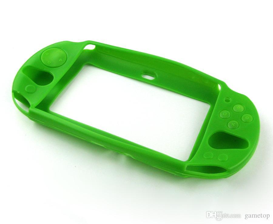 Custodia protettiva della console di protezione della console del silicone della console di gomma della gomma del silicone PS Vita Slim PSV2000