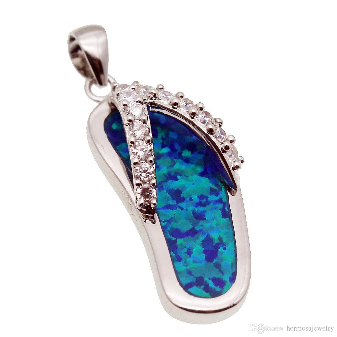 Blue opal pendants light collections light ideas wholesale blue opal pendants necklace hermosa 925 sterling silver wholesale blue opal pendants necklace hermosa 925 mozeypictures Gallery