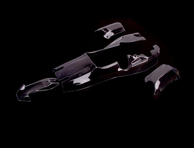 Wholesale- 1/5 scale rc baja parts Rovan rc car spare parts 5B BAJA PC BODY  SHELLS KIT 85026-06 CLEAR BODY