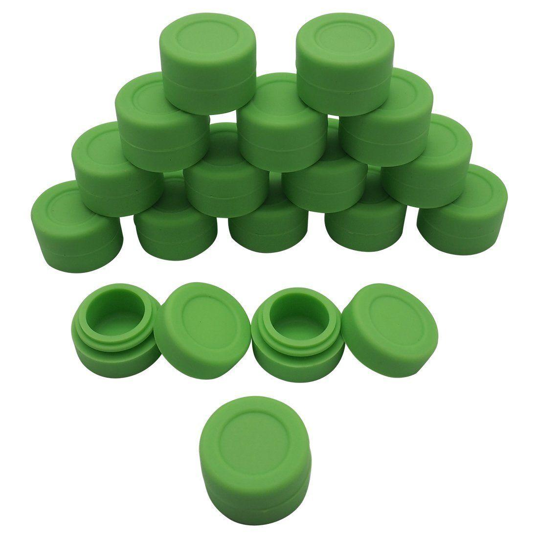 Electronic cigarette accessories FDA approved non-stick silicone jars dab wax vaporizer oil container FDA&LFGB silicone storage for vaporize