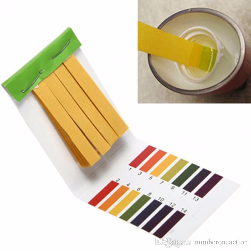 Acquario di acqua pH strisce reattive universale Full Range tornasole 1-14 acida Indicatore alcalina cibo Urine Lab suolo Corpo Tester