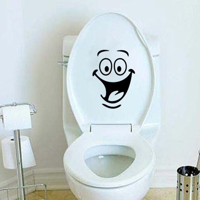 bathroom wall stickers toilet home decoration waterproof wall decals