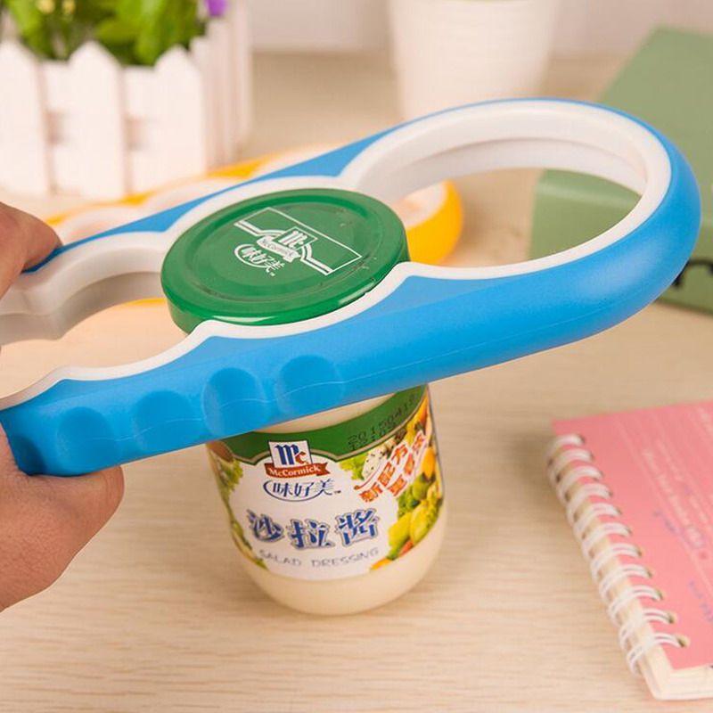 Moda Parafuso Cap Jar Garrafa Chave 4 em 1 Criativo Multifuncional Em Forma de Cabaça Abridor de Lata Ferramenta de Cozinha S201701