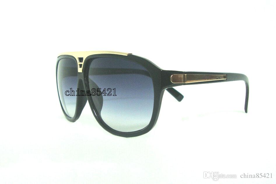 Mens Womens Sunglasses Evidence Sun glasses Designer Black Frame Glasses Eyewear Come With Case And Cleaning Cloth