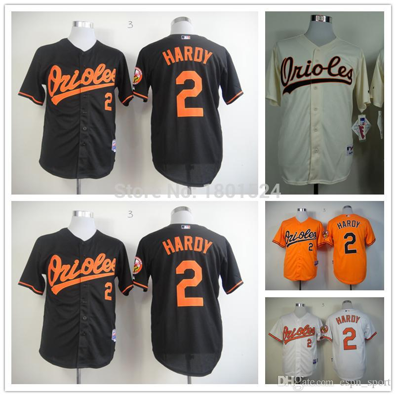 945d458f850 ... Online Cheap 2017 New Mens Womens Kids 2 J.J. Hardy Baseball Jersey  Baltimore Orioles Orange White ...