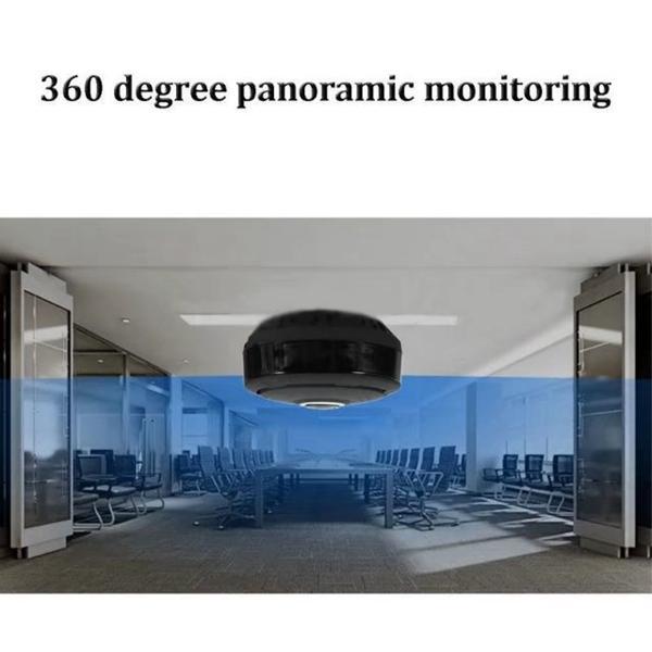 360° WIFI Globe Panoramic Camera Fisheye Night Vision Motion Detection P2P mini IP camera remote monitor Home Security Surveillance CCTV Cam