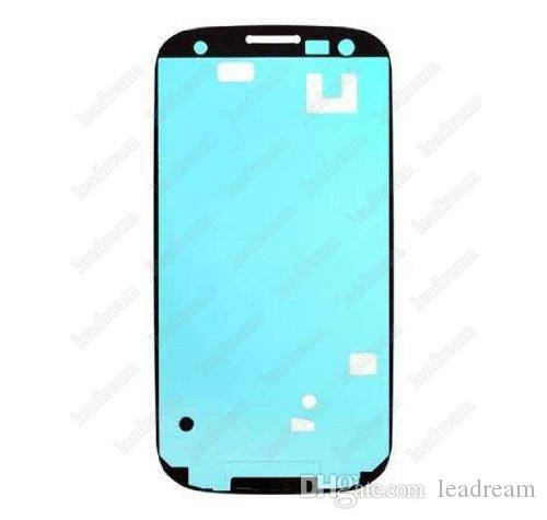 Pré-coupé 3 M Ruban Adhésif Colle Adhésif pour Samsung Galaxy S3 S4 S5 Note 2 Note 3 Note 4 Note 4 Logement Cadre Avant