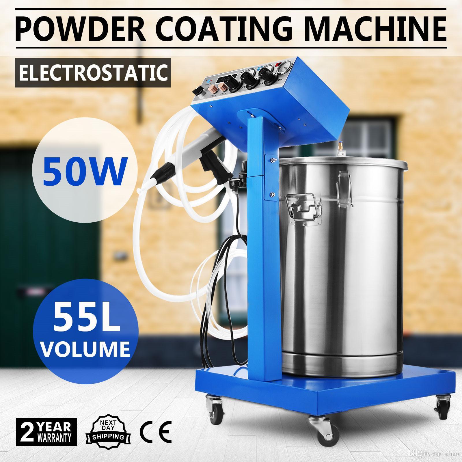 2019 New Electrostatic Spray Powder Coating System Machine Spraying