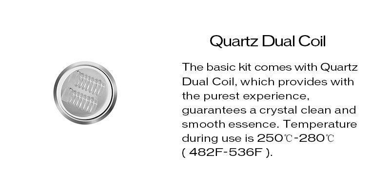 100% оригинальный yocan факел катушки QDC блин катушки для воска / травы для yocan факел испаритель 5 шт./упак.
