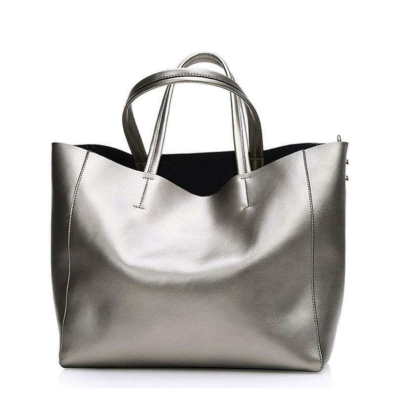 73ff44f01d Wholesale Bolsas Silver Luxury Famous Brand Women Messenger Bags Handbags  Women Famous Brands Gold Women Leather Handbags Sac A Main Tote Branded Bags  ...