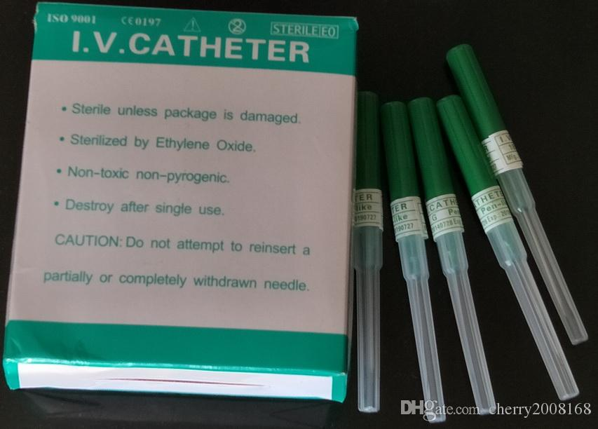 I.V.Catheter Body Piercing Needles Supplies 18G / pour le tatouage Piercing Needles Supply