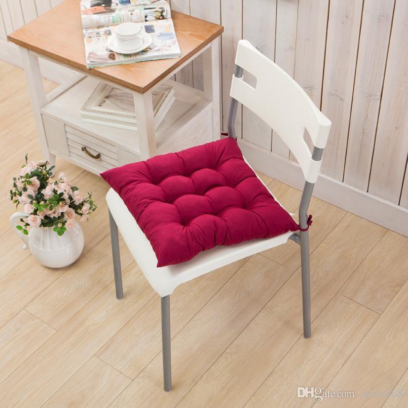 40 * 40 cm Interior Ao Ar Livre Almofada Do Jardim Travesseiro Pátio Casa Cozinha Escritório Carro Sofá Cadeira Assento Almofada Macia Almofada HH-D05