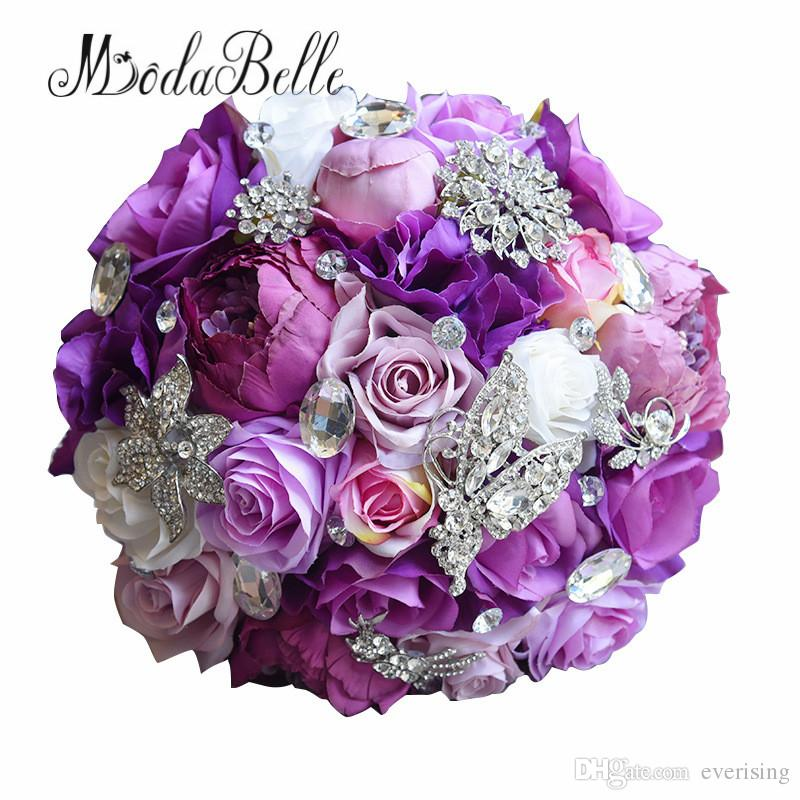 Modabelle Silk Wedding Flower 2018 Artificial Rose Bouquet