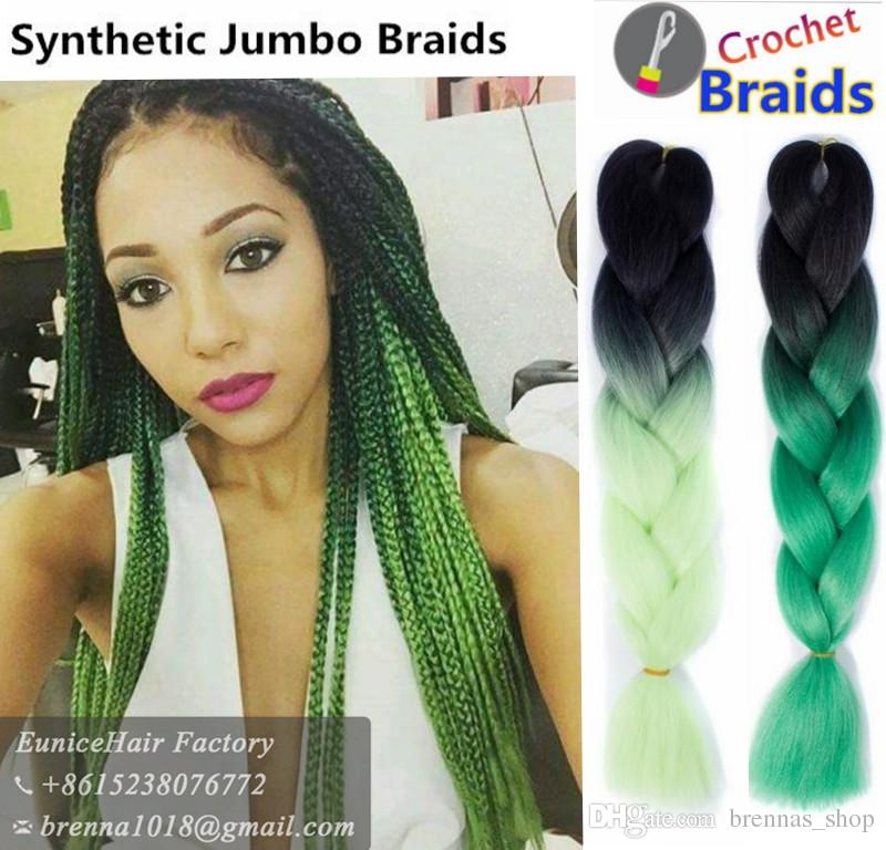 America South African Uk Synthetic Two Tone High Temperature Fiber