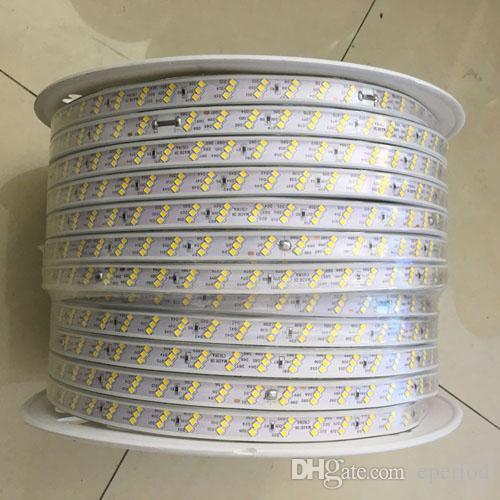Kæmpestor Led Strip 2835 220v Width 15mm 3 Row 276Leds/M Outdoor Led Lights UU69