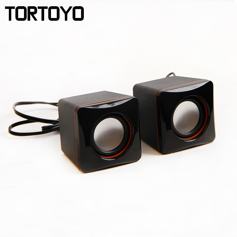 Whole High Quality Surround 3d Subwoofer Stereo Bass Mini Usb Speaker Pc Computer Speakers Loudspeaker Box For Laptop Notebook Recessed