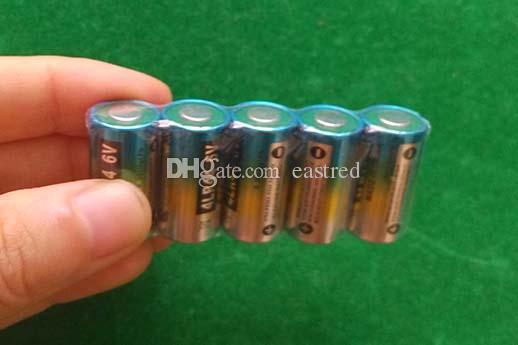 800 teile / los RoHS 6V alkalische Batterie 4AG13 476A 28A A544 L1325 Alarm Hundekragen 4LR44
