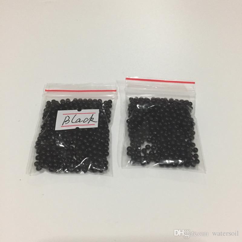 10 packs, 10g/pack Black crystal soil water beads growing magic jelly balls bio gel wedding casamento vase fillers orbiz