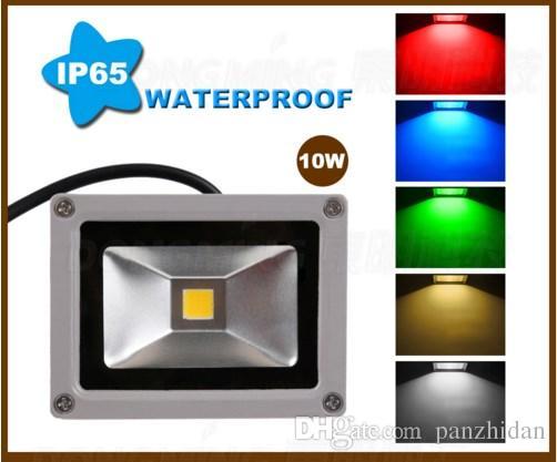 High Power 10w Led Flood Light Bulb Ip65 900lm Dc Rgb 86 265v Led