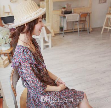 Daisy Perla Petalo Braccialetto elastico Braccialetto fiore estetico Anelli elasticizzati DHL Collegamento femminile Bracciale Accessori gioielli Regalo di Natale