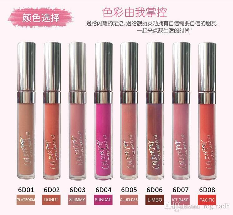 Colourpop Lip Gloss ULTRA MATTE LIQUID LIPSTICKS Various colors Long Lasting lips Colour pop lipgloss