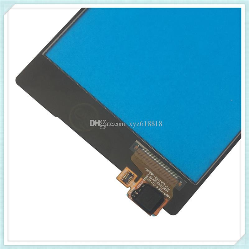 Sony Xperia Z5 E6683 E6653 E6603 Dokunmatik Ekran Dokunmatik Panel Sayısallaştırıcı Ücretsiz Nakliye Yeni Orjinal Dokunmatik Ön Cam Panel