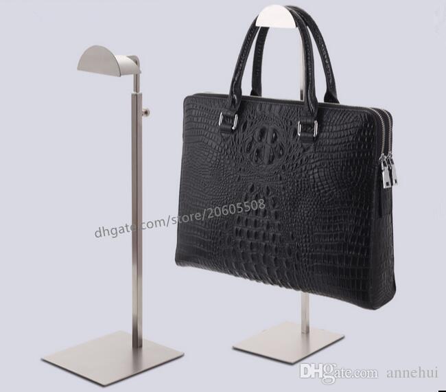 2019 Fashion High Quality Stainess Steel Handbag Display Stand Wig
