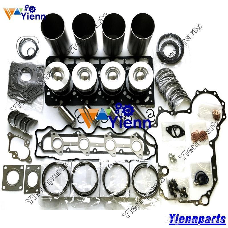 V3300T V3300 Überholungs-Wiederherstellungssatz für Kubota-Motor THOMAS T225 T245 T250 T320 Generator-Ersatzteile für Lader Kolbenring Dichtungslager