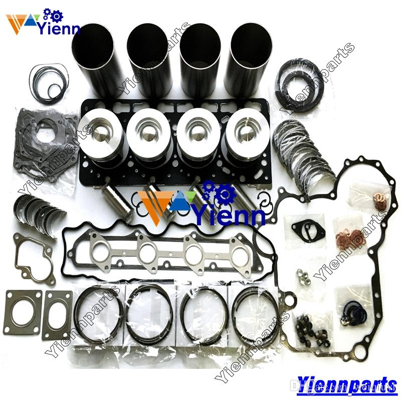 V3300T V3300 Overhaul Rebuild Kit for Kubota engine THOMAS T225 T245 T250 T320 Loader generator repair parts Piston Ring Gasket bearing
