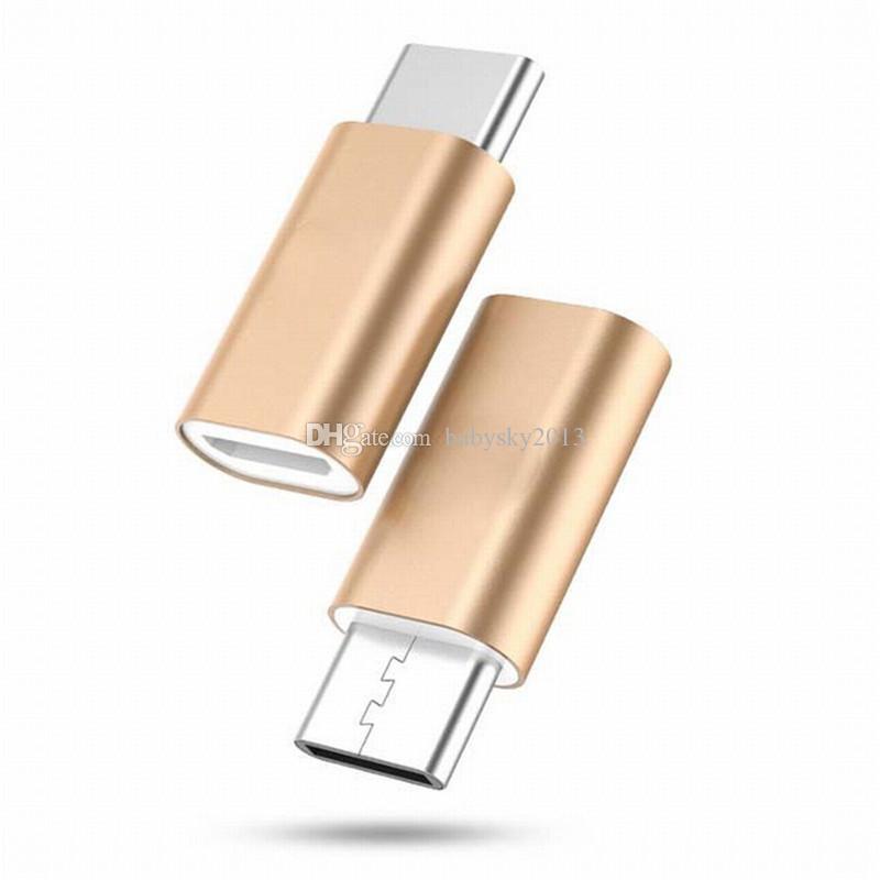 OTG адаптер USB 3,1 Тип C Мужской Micro USB Женский конвертер адаптер Разъем USB-C для Samsung Галактика s8 s8 вилка примечание 5 Lg g5