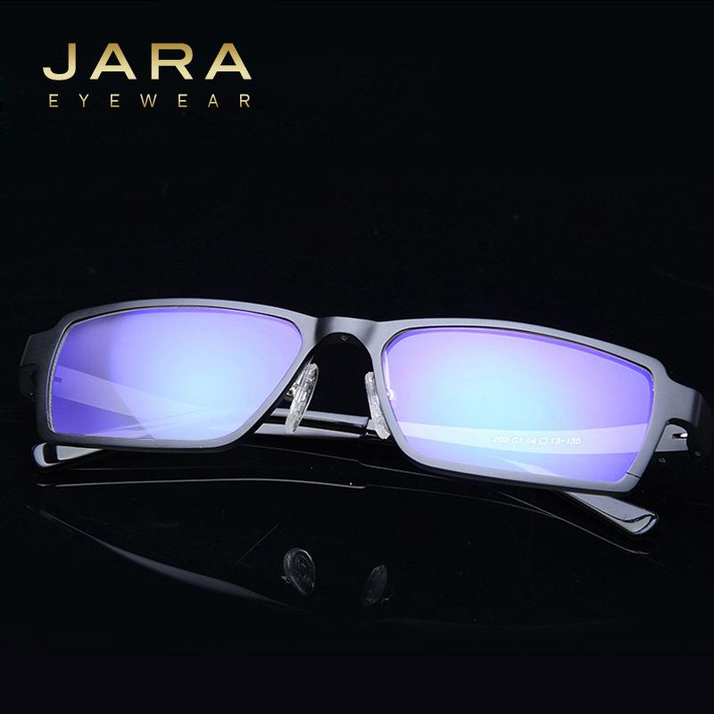 ce82beea901 Wholesale- JARA Titanium Men s Anti-blue Ray Glasses Sports Eyeglass Frame  UV400 Driving Computer Goggle High Quality Frame Sport Eyeglass Frames  Eyeglass ...