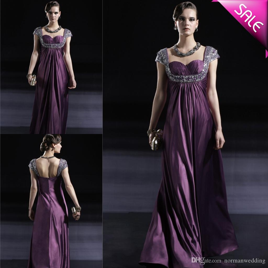 Elegant Purple Prom Dresses